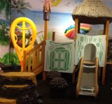 Tree antiguo House Outdoor Playground para Children (KQ35005A)