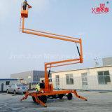 Het lucht Opheffende Platform van de Boom van het Wapen van de Aanhangwagen van de Reparatie Beweegbare Vouwende