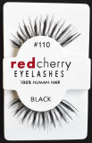 Ciglio realistico comodo di trucco dell'Cosmetic Eye Lashes Soft del ciglio 16 della ciliegia rossa di stile della signora falsa