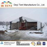 [40م] عرض مستودع خيمة مع فولاذ جدر