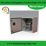 Folha de metal personalizada elevada precisão para caixas da máquina