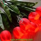 Luz artificial da flor do diodo emissor de luz para a decoração do Natal