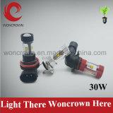 China Melhor preço mais recente lâmpada de lâmpada LED de 30W 50W para automóvel
