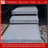 Materielle Checkered Stahlplatte A36 für Treppenhaus