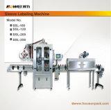 9000bottles por hora manga de encogimiento de la máquina de etiquetado