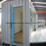 Chambre modulaire de conteneur préfabriqué avec le modèle moderne