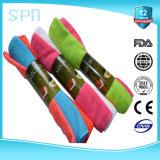 Toalha de limpeza diferente de Microfiber dos pesos das cores diferentes