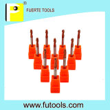 2 Flöten 90 Degree Tungsten Carbide Spot Drill für Steel Drilling