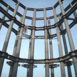 Bâtiments préfabriqués en métal pour immeubles commerciaux à hausses hausses
