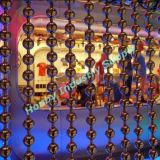 천장 Hanging Decorative 10mm Metal Bead Curtain