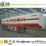 serbatoio dell'acciaio inossidabile del serbatoio di /Water del semirimorchio dell'autocisterna del combustibile 30-60m3