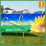 Publicidad de la bandera al aire libre del vinilo