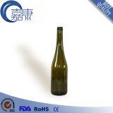 bottiglia di vetro blu scuro del collo lungo 750ml per vino (CHW8105)