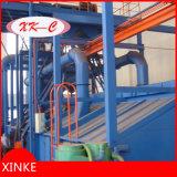 Type rotatoire machine de convoyeur de crochet de nettoyage de soufflage de sable