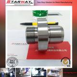 Kundenspezifisches Edelstahl-Auto-Teil durch die CNC maschinelle Bearbeitung
