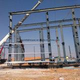 Almacén de dos pisos de la estructura de acero