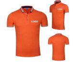 Camisa 100% de polo unisex de la buena calidad del personal de Cotton Colorful Company de la aduana