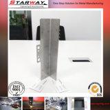 Découpage de laser d'OEM appuyant la fabrication galvanisée par rivet de tôle