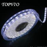 Luz de tira flexível branca do diodo emissor de luz da luz de tira 60LEDs/M 5050 flexíveis