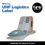 autoadesivo adesivo della modifica di memoria di 860 960MHz logistica di frequenza ultraelevata RFID
