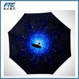 Impermeabilizar y paraguas resistente de Sun con insignia del OEM