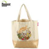 Oeko-Tex Audited Nouvelle conception Impression personnalisée Canvas Cotton Shopping Bag