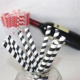 Striped в черной & белой сторновке цвета 100% Eco-Friendly бумажной