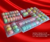 Transparentes Plastikblasen-Nahrungsmittelgrad-Plätzchen-Tellersegment-Verpacken