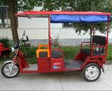 Selling quente Electric Rickshaw para Passenger