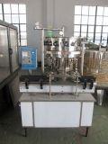 Machine de capsulage remplissante de lavage carbonatée linéaire automatique