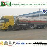 Aluminiumtreibstoff-Tanker-halb Schlussteil-/3-Wellen-Aluminiumkraftstofftanks/Dieselbecken