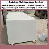 中国の自然な雪の白い大理石のタイルの自然な分割大理石