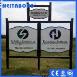 Alta insegna composita di alluminio del comitato di prezzi competitivi di Neitabond nella pubblicità industriale