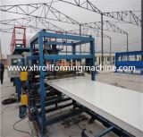 Cadena de producción del panel de emparedado de las lanas de roca del EPS