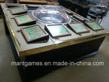 ベネズエラの接触Screen Metal Cabinet 12 Players Roueltte Machine Popular
