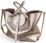 Señora retra Handbag (LY0037) de las compras de la manera del compartimiento
