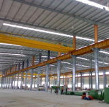 Atelier léger préfabriqué de structure métallique