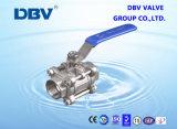 acier inoxydable de l'amorçage 3PC/2PC/1PC 304/316/201 robinet à tournant sphérique