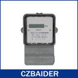 Transparant Comité Twee de Elektronische Meter van de Enige Fase van de Draad (DDS2111)