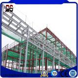 Usine de structure métallique de grande envergure avec la conformité de la CE