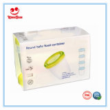 contenitore rotondo degli alimenti per bambini 180ml per allattare al seno