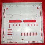 Disposition de boîtes en plastique de paradoxe pour le support multiple de module et de panneau