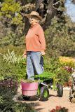 Trator de luxe do jardim do rolamento para jardineiro
