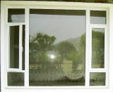 Энергосберегающее двойное стеклянное пластичное окно винила с ценой по прейскуранту завода-изготовителя