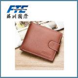 Бумажник бизнесменов PU кожаный с карманн монетки с магнитной