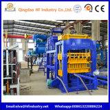 Máquina de fabricación de ladrillo de pavimentación hueco hidráulica automática del bloque de cemento Qt10-15