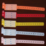Faixa macia do PVC dos Wristbands da identificação do hospital para pacientes