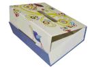 우아한 주문을 받아서 만들어진 마분지 선물 수송용 포장 상자