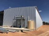 Chambre préfabriquée de structure métallique de l'Afrique du Sud