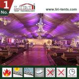 grande tenda bianca di 25X60m per i partiti e cerimonia nuziale, mostra e sport
